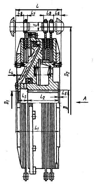 Модель муфты-тормоза